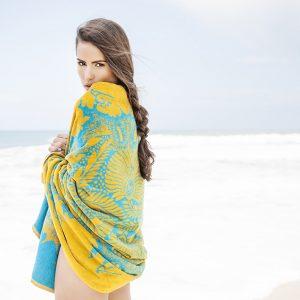 Elaiva strandlaken Orient Mystic Aqua