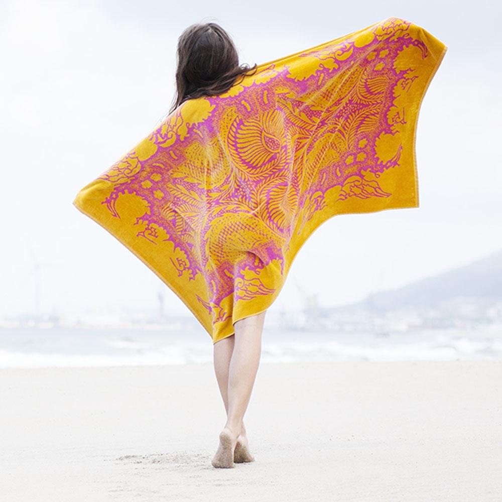 Elaiva strandlaken Orient Mystic Fuchsia
