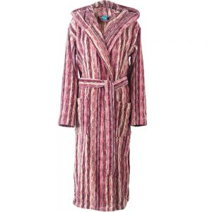 Elaiva badjas met capuchon Perth Pink