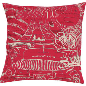 Jean Paul Gaultier Home kussen Confession Rouge