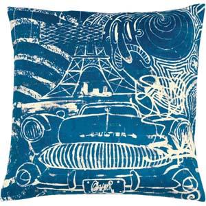 Jean Paul Gaultier Home kussen Confession Blue