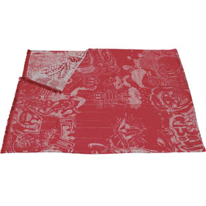 Jean Paul Gaultier Home plaid Expression Rouge