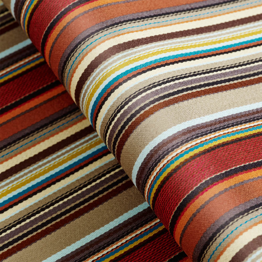 Kvadrat stof Stripes 05