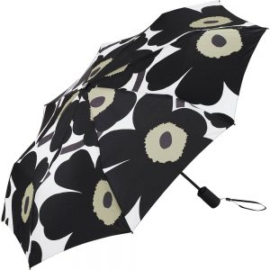 Marimekko paraplu Pieni Unikko zwart