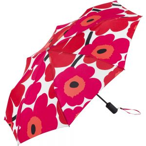 Marimekko paraplu Pieni Unikko rood