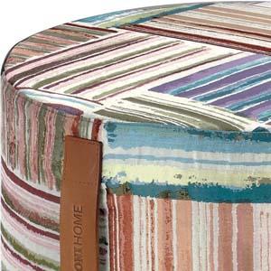 missoni home cilinder poef palenque. Black Bedroom Furniture Sets. Home Design Ideas