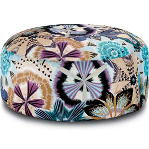 Missoni Home grote poef Passiflora Giant 170