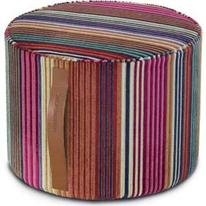 missoni home cilinder poef libertad 159. Black Bedroom Furniture Sets. Home Design Ideas