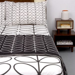 Orla Kiely beddengoed Linear Stem Graphite