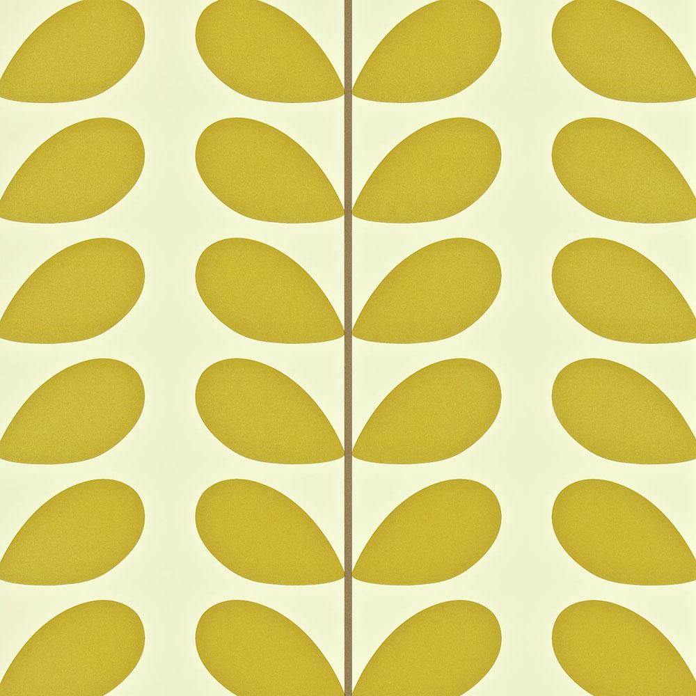 Orla Kiely behang Classic Stem Olive