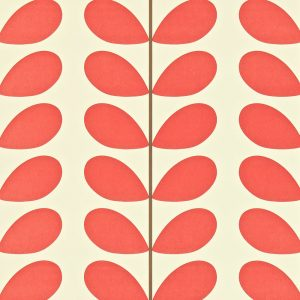 Orla Kiely behang Classic Stem Poppy