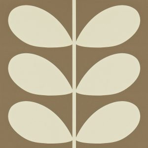 Orla Kiely behang Giant Stem Mole