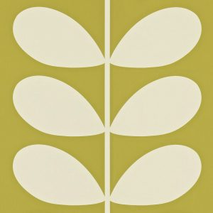 Orla Kiely behang Giant Stem Olive