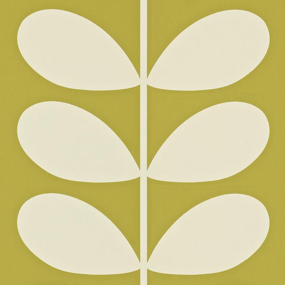 Orla Kiely behang Giant Stem Olive