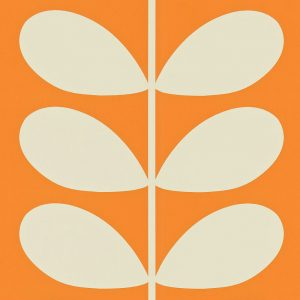 Orla Kiely behang Giant Stem Orange