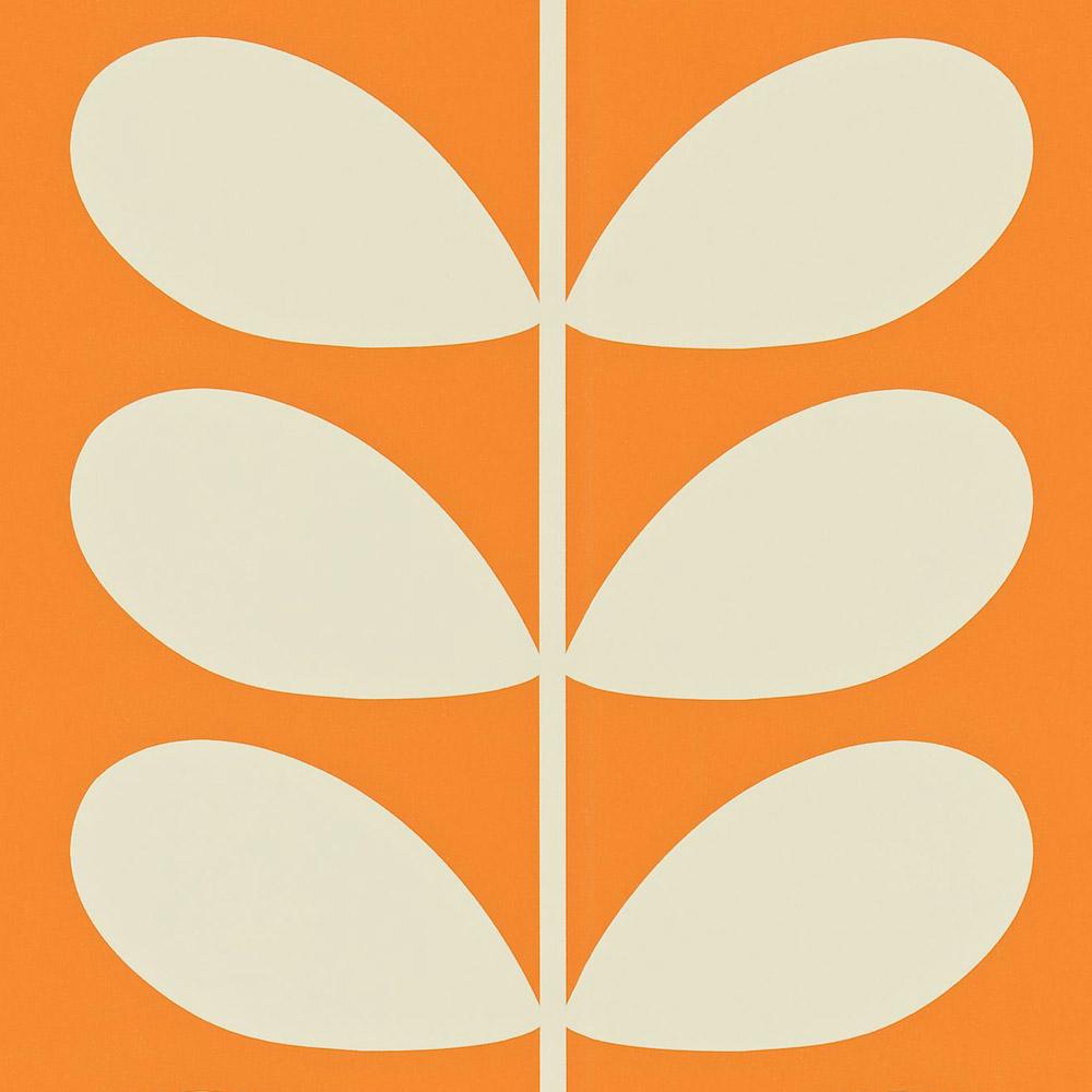 Orla Kiely behang Giant Stem Orange