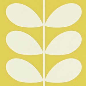 Orla Kiely behang Giant Stem Yellow