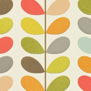 Orla Kiely behang Multi Stem