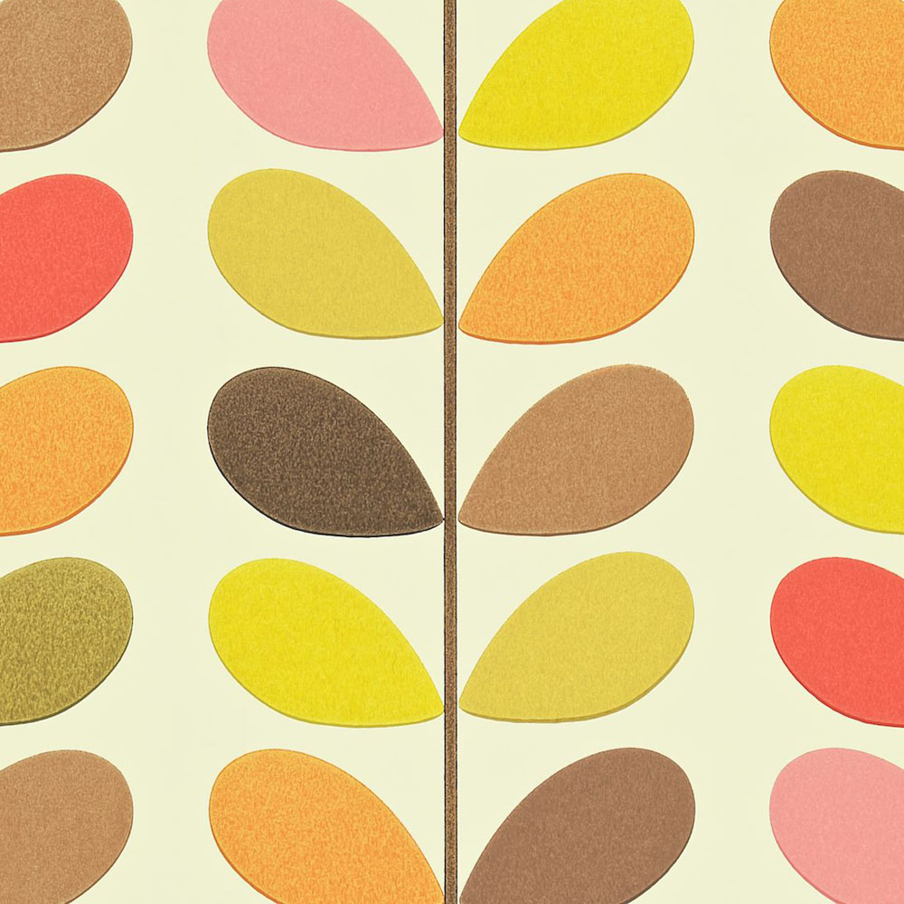 Orla Kiely behang Multi Stem Autumn
