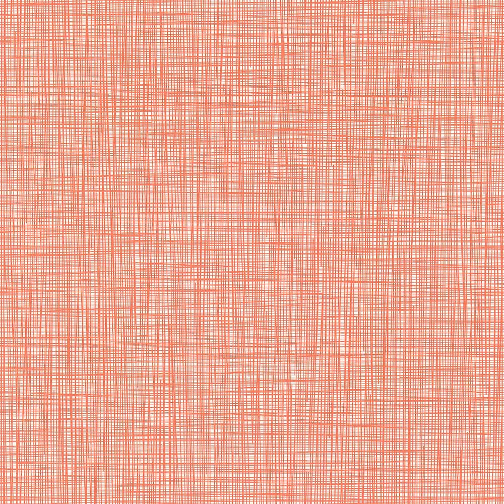 Orla Kiely behang Scribble Red