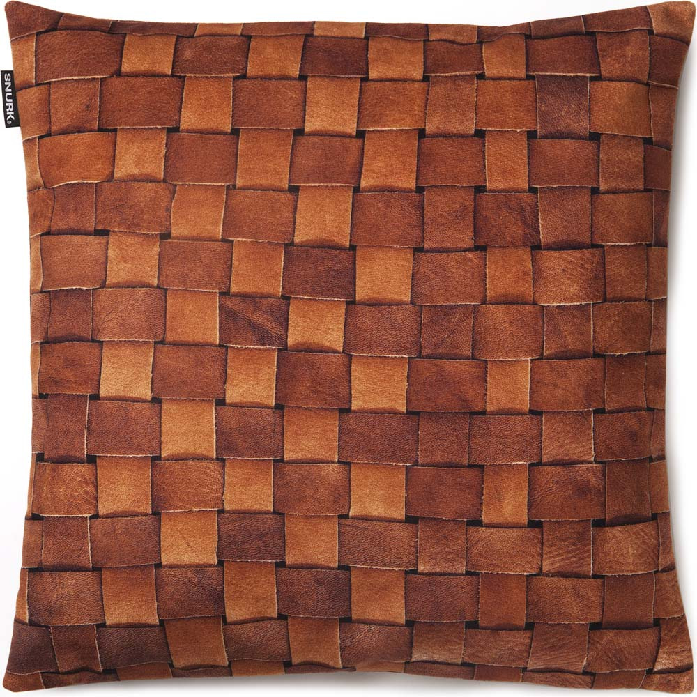 Snurk kussen Heather leather square