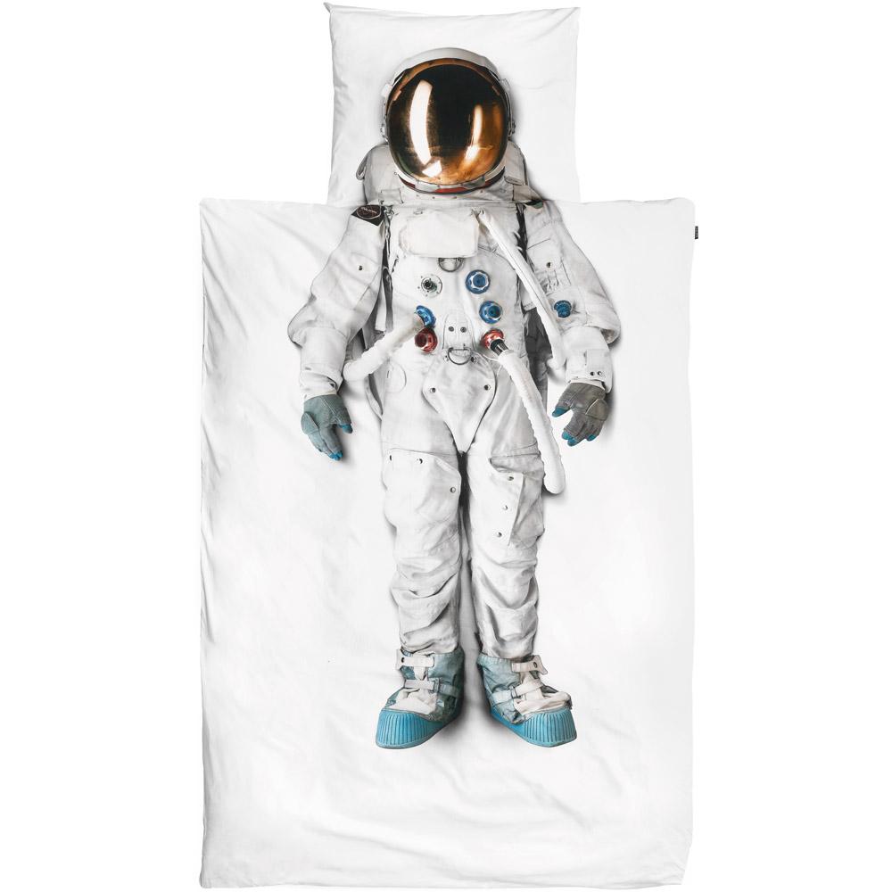 Snurk dekbed overtrekset Astronaut