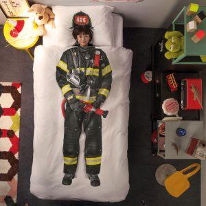 Snurk dekbed overtrekset Firefighter