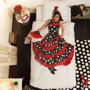 Snurk dekbed overtrekset Flamenco