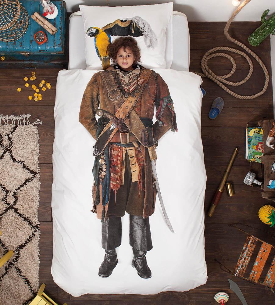 Snurk dekbed overtrekset Piraat