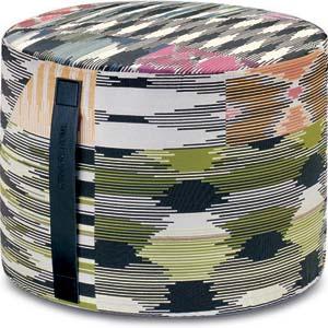 missoni home cilinder poef patch 100. Black Bedroom Furniture Sets. Home Design Ideas