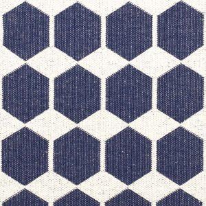 Brita Sweden kunststof vloerkleed Anna Denim Blue