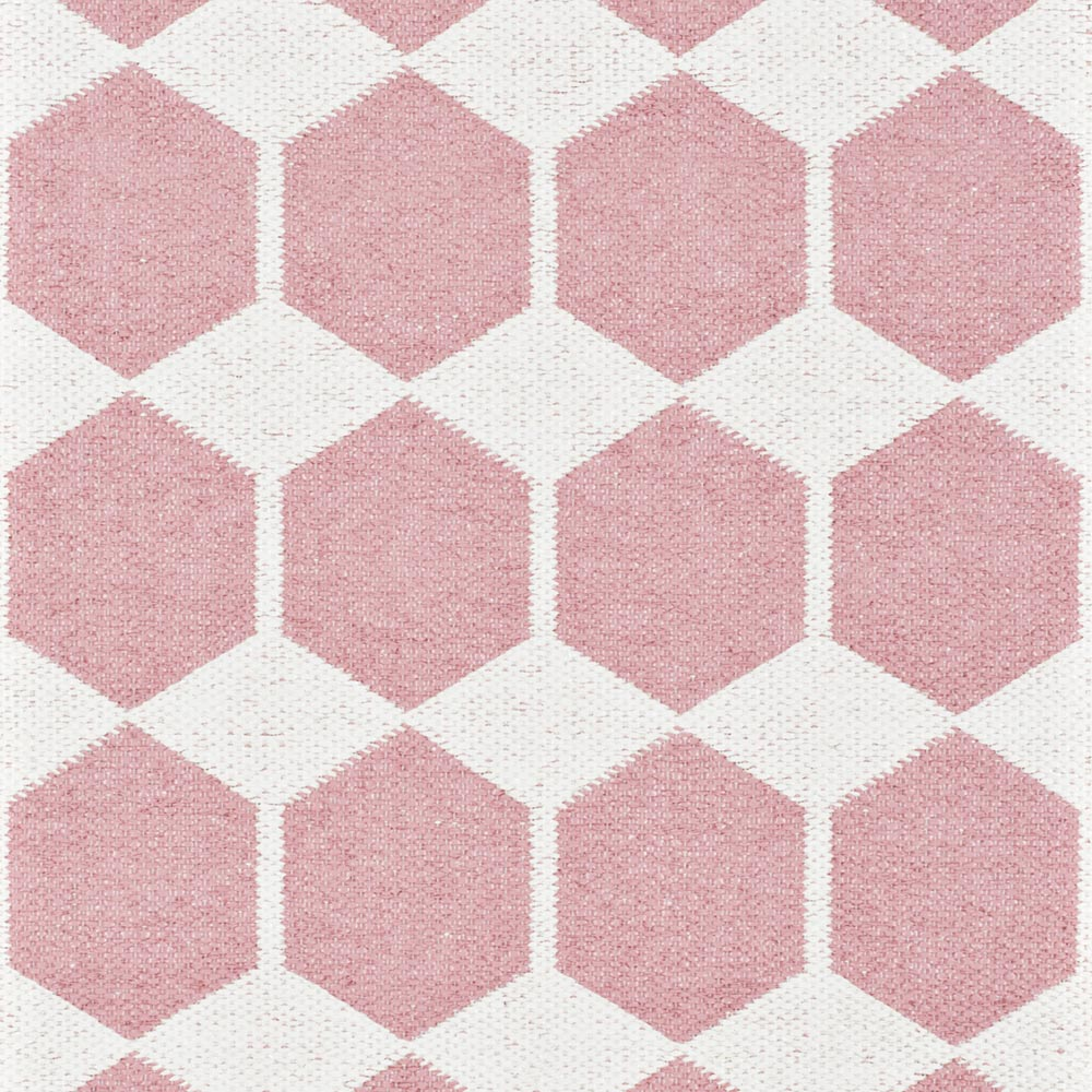 Brita Sweden kunststof vloerkleed Anna Pink