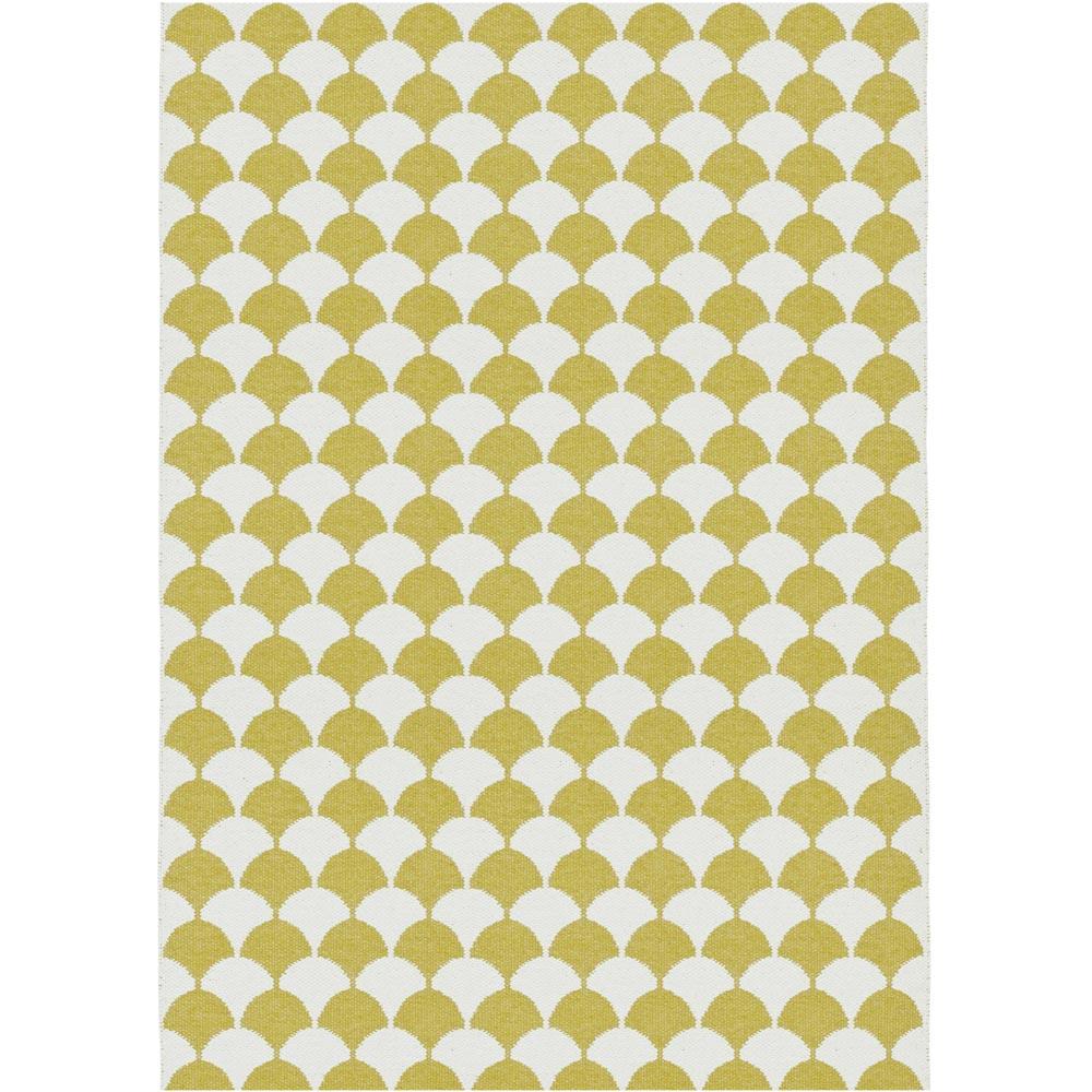 Brita Sweden kunststof vloerkleed Gerda Mustard
