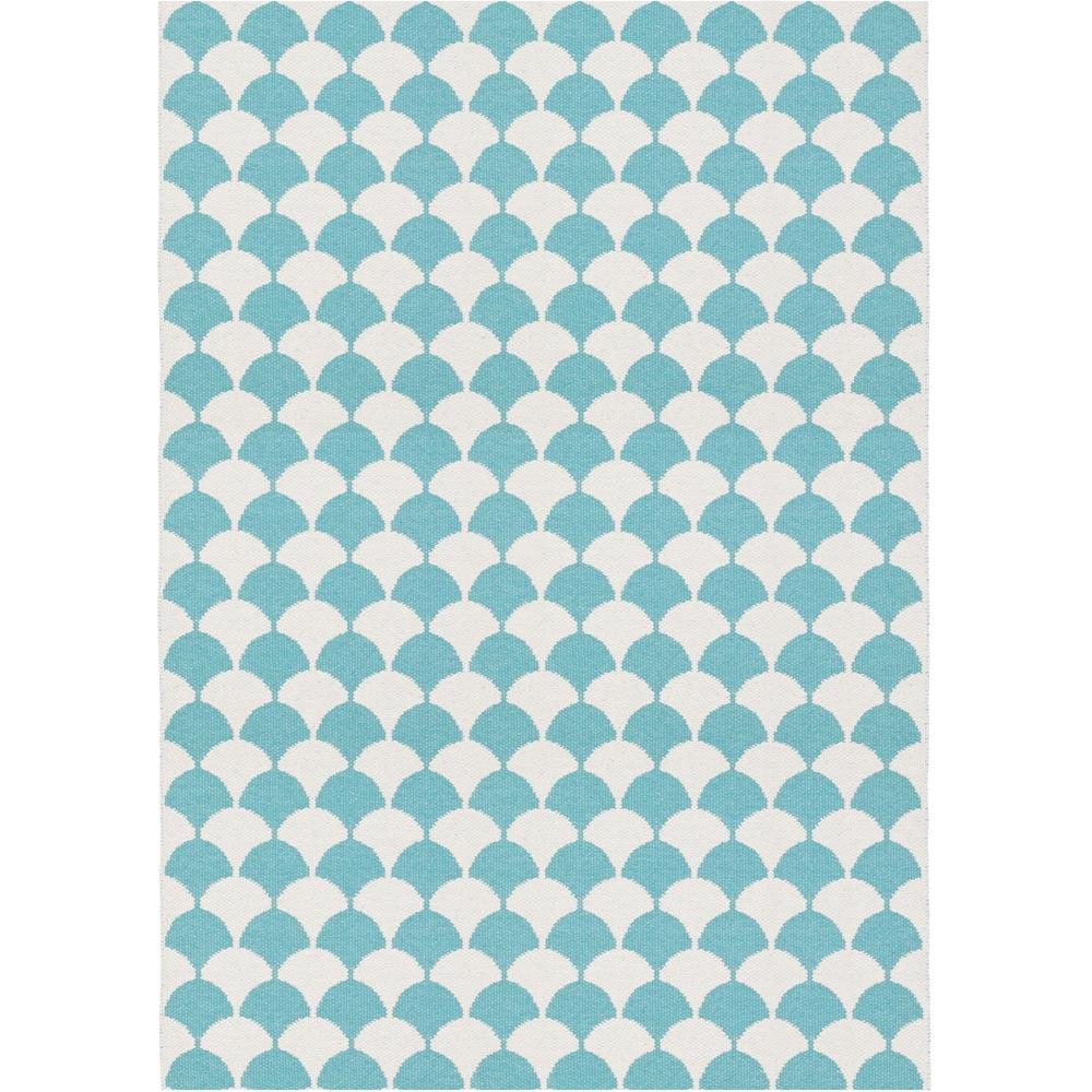 Brita Sweden kunststof vloerkleed Gerda Pool Blue