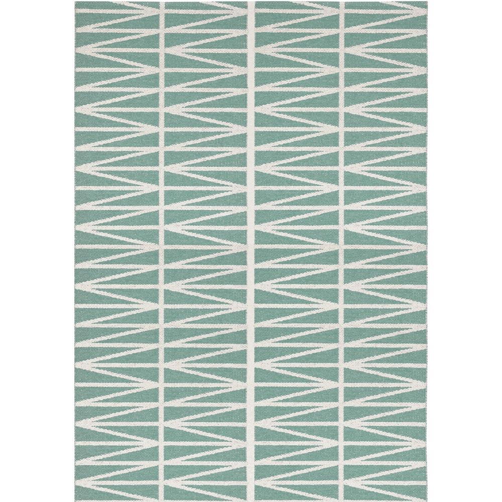 Brita Sweden kunststof vloerkleed Helmi Seagreen