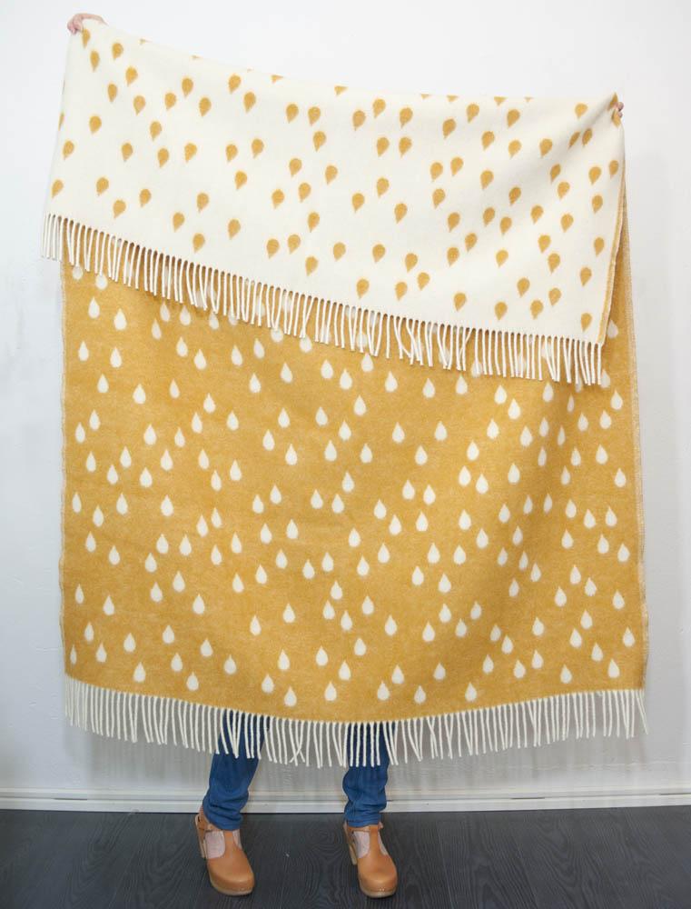 brita sweden plaid rainy days honey. Black Bedroom Furniture Sets. Home Design Ideas