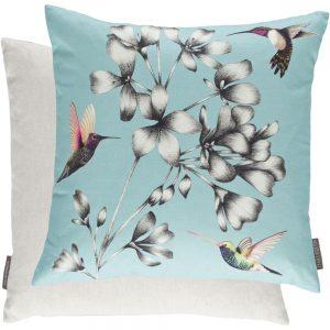 Harlequin kussen Amazilia Floral Sky
