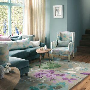 Bluebellgray vloerkleed Braybrooke Linen