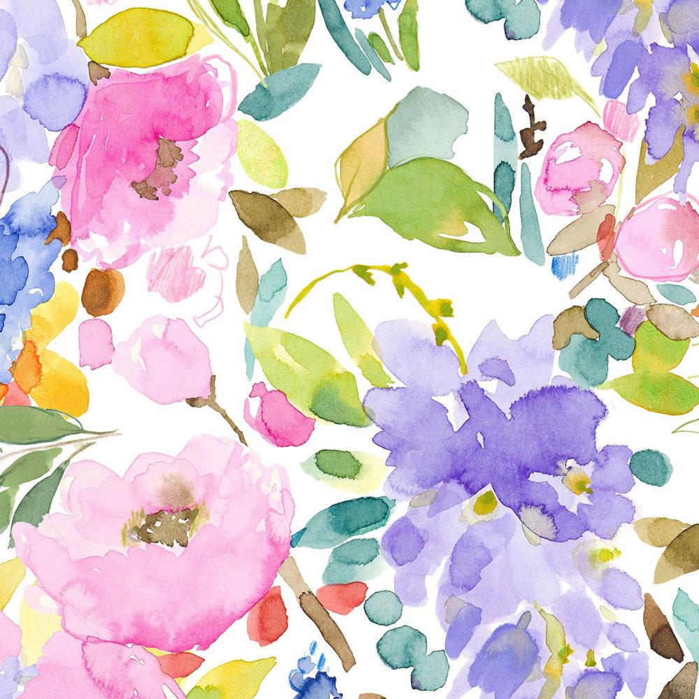 Bluebellgray behang Wisteria Garden