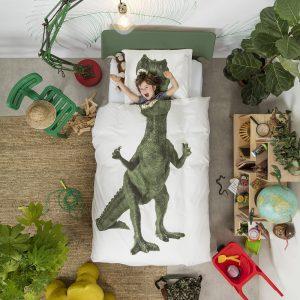 Snurk dekbed overtrekset Dinosaurus Rex