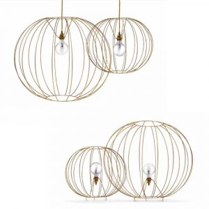 Missoni Home bubble lamp Gold