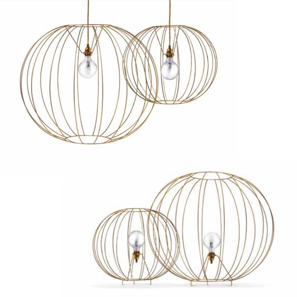 Missoni Home bubble lamp Gold