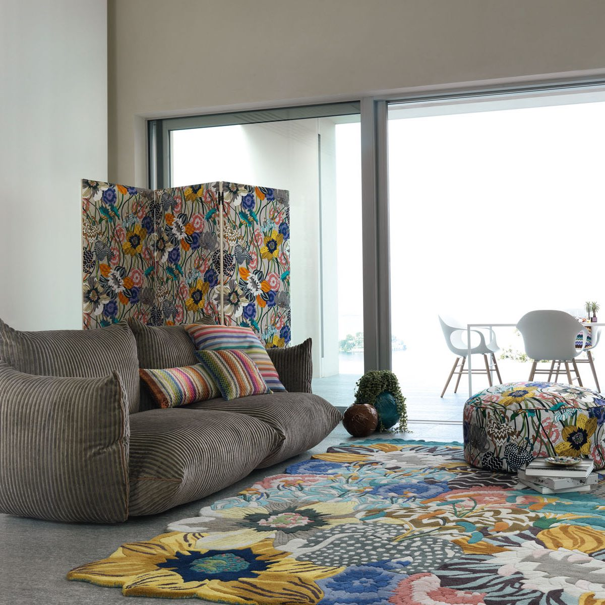 Missoni Home kamerscherm Levante 4