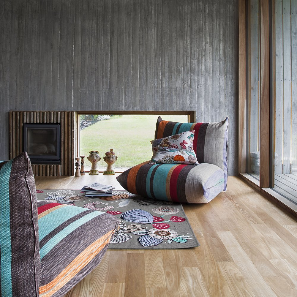 Missoni Home lang kussen Tallahassee