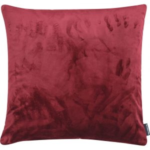 The Cushion Shop kussen Velvet Burgundy