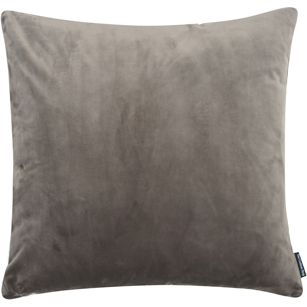 The Cushion Shop kussen Velvet Mauve Grey