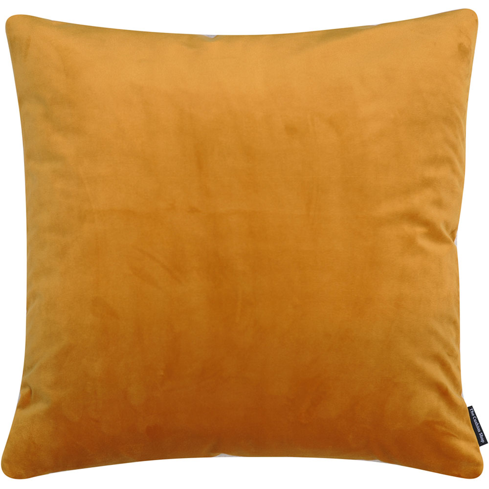 The Cushion Shop kussen Velvet Ocher Yellow