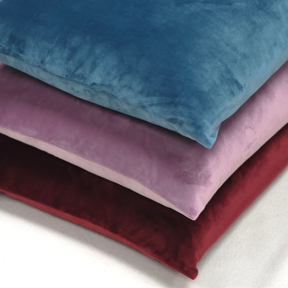 The Cushion Shop kussen Velvet Lavender