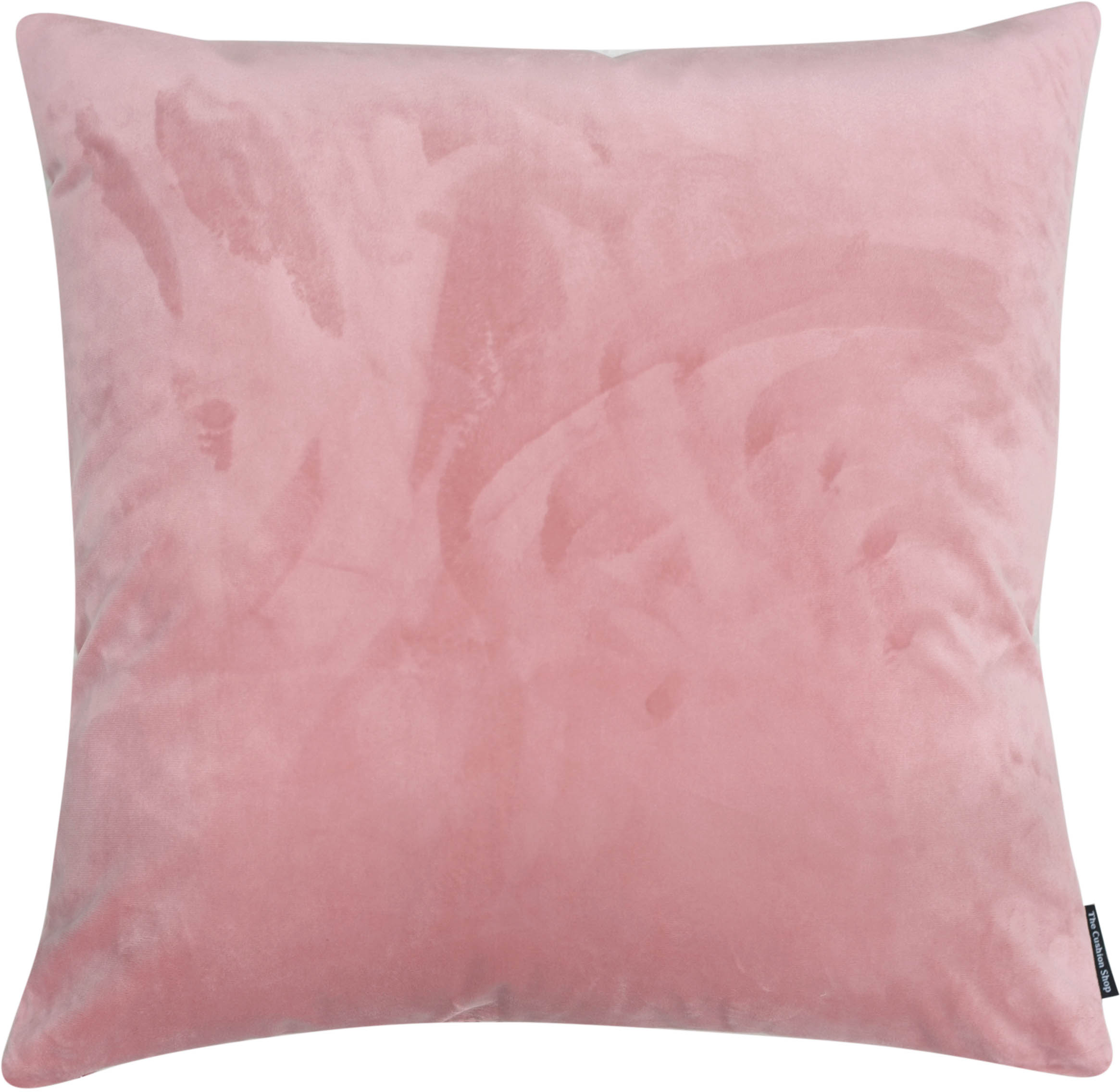 The Cushion Shop kussen Velvet Powder Pink