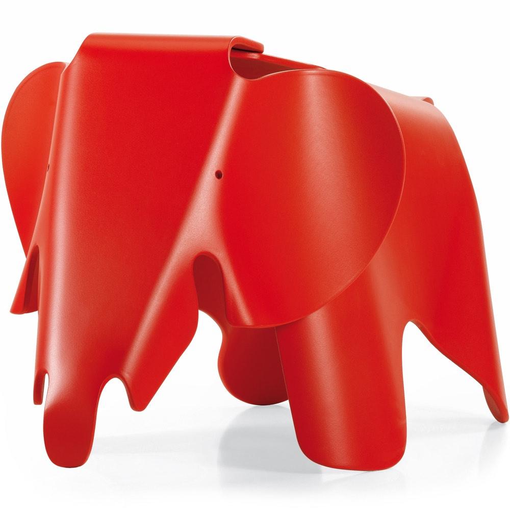 Vitra Eames Elephant kruk rood